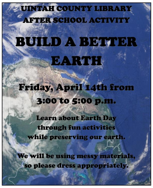 Earth Day 2017 ASA Poster